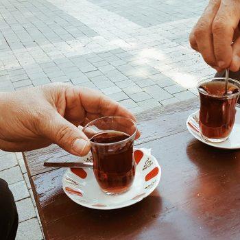 turkish tea time traditional tea